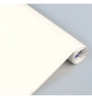 Papel Veludo Adesivo 0.45x1mts Rolo Branco
