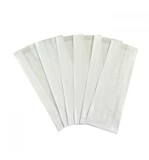 Saqueta Talheres 08x3,5x27cm Branco 1000un