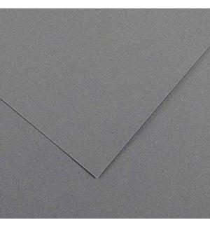 Cartolina 185gr 1 Folha 50x65cm Canson Iris Cinzento Chumbo