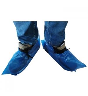 Cobre Sapatos Polietileno Sem Elastico Emb 100un Azul