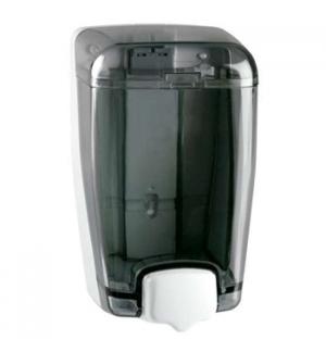 Saboneteira Plastica Azur Preta Transparente 1L