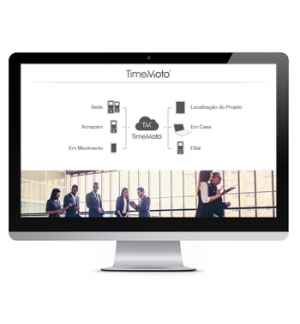 Software TimeMoto Cloud 1 Ano 25 Utilizadores (caixa)