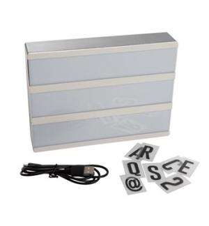 Caixa Luz 20x15x4cm Pilhas ou USB