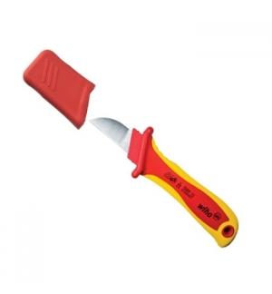Faca de decapagem e de corte reto para cabos redondos 200mm