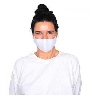Mascara Reutilizavel 3 Camadas Hans A Branco/Cert Citev - 1