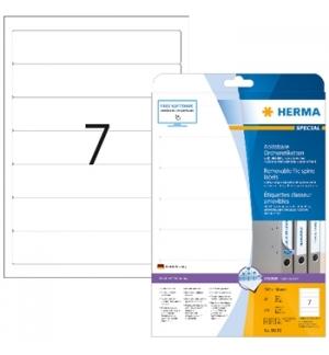 Etiquetas 192x38mm Herma Branco 175un (25fl)