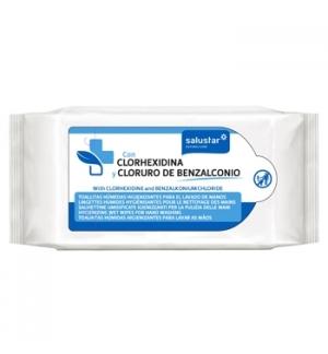 Toalhete Higienizante com Clorhexidina 72 un
