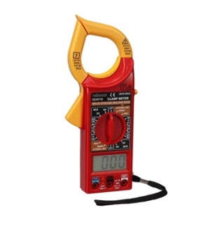 Multimetro digital c/pinca amperimetrica Cat III 500V