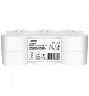 Papel Higiénico (Jumbo) 061mts 2 Folhas AET Alta Absorção 12