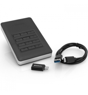 "Disco Externo 2TB HDD 2.5"" VERBATIM Store-n-Go USB 3.1 Preto"