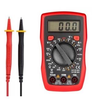 Multimetro digital CAT II e III 500V/300V - 10Amp