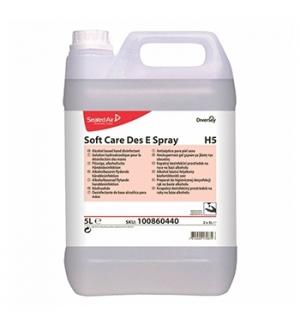Desinfetante Soft Care DES e Spray H5 (base álcool) 5Litros