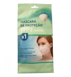 Mascara Descartavel FFP2 /KN95 - Blister 1Un