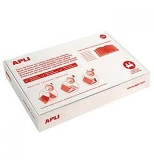 Forra Livros Ajustavel Apli 285x530mm Transp 130mic 25un