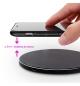 Carregador Wireless para Smartphones 10W Carga Rapida