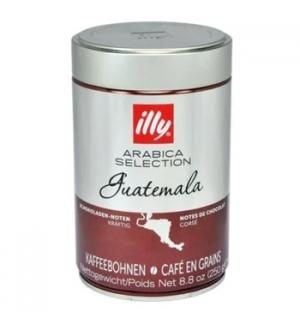 Café Grão ILLY Arábica Seleção Guatemala Lata 250gr