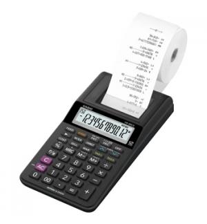 Calculadora de Secretaria Casio HR8RCE 12Dig - Preto c/Fita