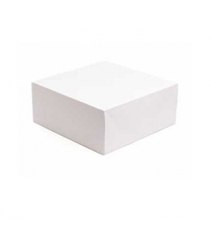 Caixa Cartolina Branca 20x16,5x7cm 125un