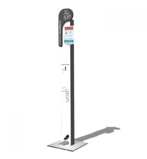 Ponto Higienico c/dispensador Pedal de desinfectante 1un