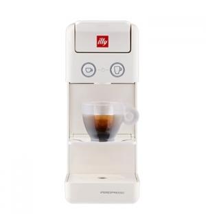 Máquina Café Cápsulas ILLY Y3.3 E&C Iperespresso Branco