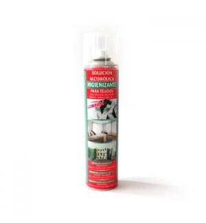 Solução Alcool Gel Higienizante p/Tecidos Spray 400ml