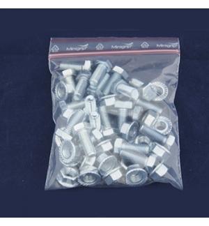 Saco Plastico MiniGrip 50 microns 120X180 Cx1000unid