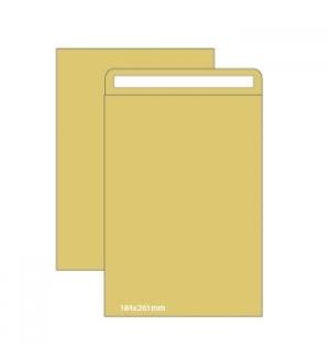 Envelopes Saco 184x261mm Kraft 90gr Pack 25un