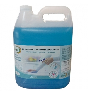 Desinfetante Bactericida/Fungicida/Virucida Pronto-a-usar 5L