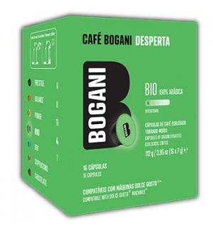Café Cápsulas Bogani Bio DG 16un