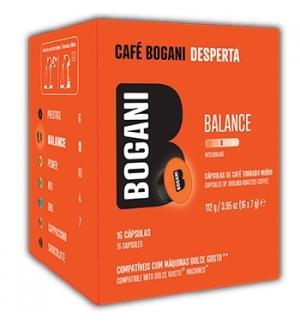 Café Cápsulas Bogani Balance DG 16un