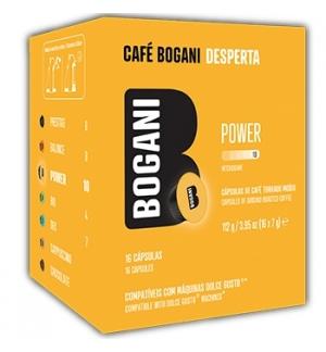 Cafe Capsulas Bogani Power DG Cx.16