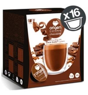 Cápsulas Chocolate Origen & Sensations DG 16un