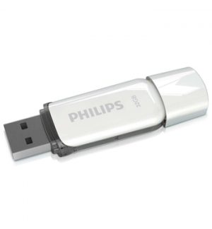 Pen Drive 32GB Snow Edition USB 2.0 Cinza