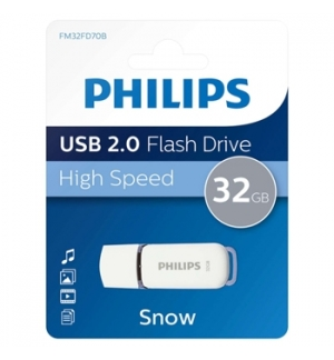 Pen Drive 32GB Snow Edition USB 2.0 Cinza
