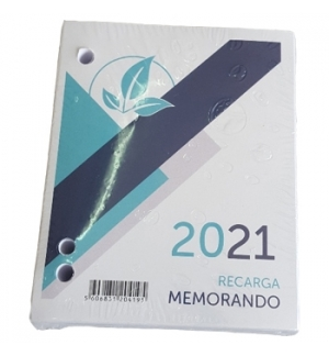 Bloco Memorando 2021 com Furos para Base de Secretaria