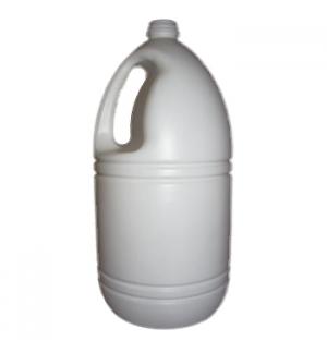 Garrafão Vazio Branco p/Lixivia 5 Litros