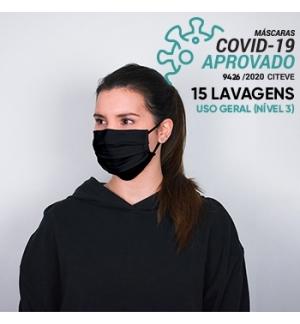 Mascara Reutilizavel 15 Lavagens DANIELLE A Preto -1un