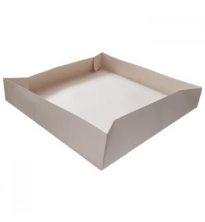 Caixa Tarte Cartão 30x30x5cm Branco 1un