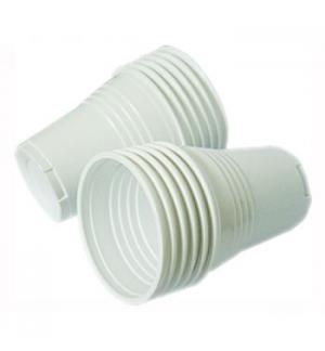 Copo Café Plástico 080ml Branco 100un