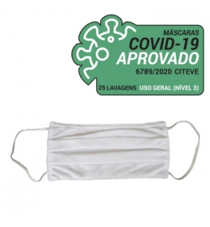 Mascara Reutilizavel 25 Lavagens Pack 3 Adulto