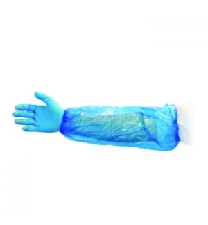Manga Proteção Elásticos Azul 100un