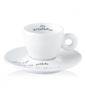 Conj Chav+Pires Esp Illy Art Collection Yoko Ono 1un