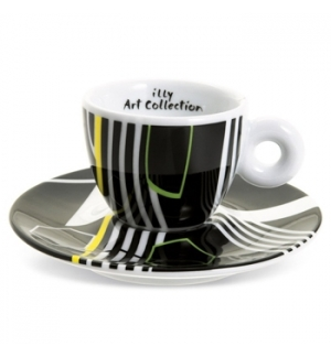 Conj Chav+Pires Esp Illy Art Collection Tobias Rehberger 6un