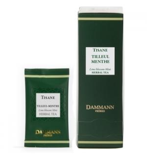 Tisana Bolsas Tilia e Menta Dammann - 24un