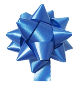 Laços Adesivos Embrulhos 19mm Azul 10un