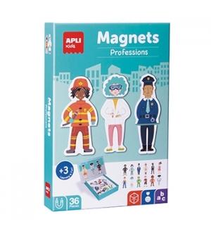 Jogo Educativo Magnético Apli Profissões 36 Peças
