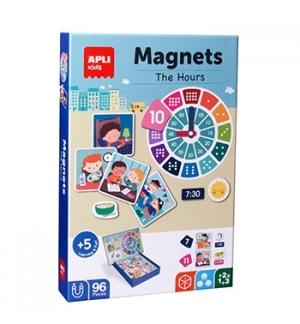Jogo Educativo Magnético Apli As Horas 96 Peças