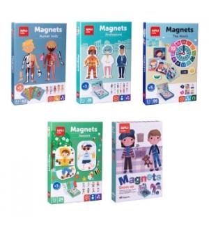 Kit Jogos Educativos Magnéticos Apli 4un Sortidas