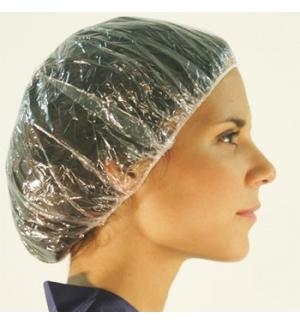 Touca Proteção Plástico Transparente 100un
