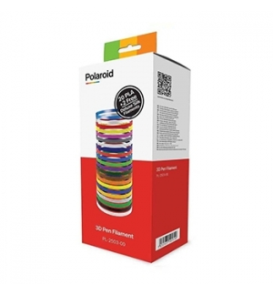 Pack Filamentos Polaroid Canetas 3D (PLA 20 cores 1.75mm) +2